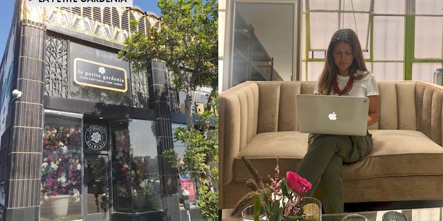 In Los Angeles, event florist Alison Franchi of La Petite Gardenia lost all of her wedding and corporate sales. She's now turned to social media and online orders offering curbside pickup and delivery options for Mother's Day (Alison Franchi, La Petite Gardenia).