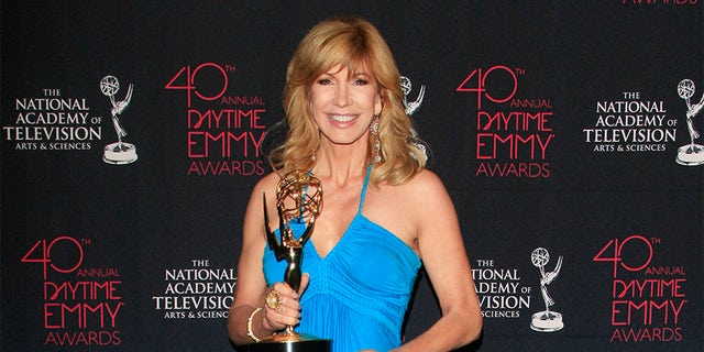 Leeza Gibbons at The National Academy Of Television Arts & Sciences 40th Annual Daytime Creative Arts Emmy Awards at the Bonaventure Hotel on June 14, 2013, in Los Angeles, CA