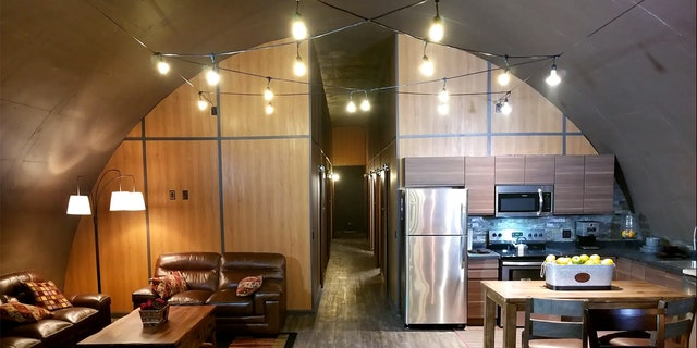A luxury underground bunker.