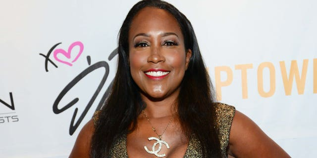 Maia Campbell is pictured here on June 29, 2013 in Hollywood, Calif.