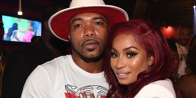 Maurice 'Arkansas Mo' Fayne and Karlie Redd attend 'Ferrari Karlie' Single Release Party at Buckhead Loft on July 18, 2018, in Atlanta, Georgia.