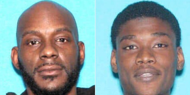 Prosecutors released these photos of Larry Teague, 44, left, and Ramonyea Bishop, 23.