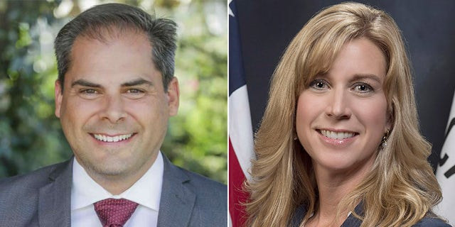 Mike Garcia (R) and Christy Smith (D) are competing Tuesday to represent California's 25th Congressional District.