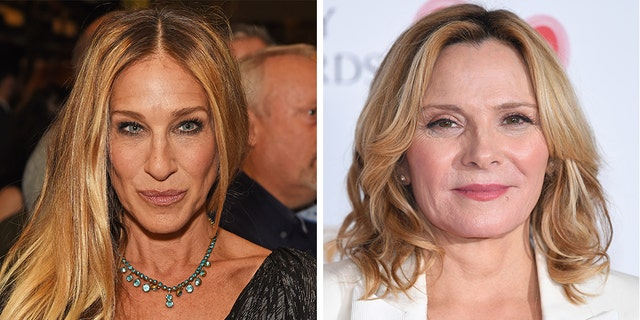 """섹스 앤 더 시티"" star Sarah Jessica Parker responded to questions regarding former co-star Kim Cattrall's absence from the ""And Just Like That…"" series revival spinoff."