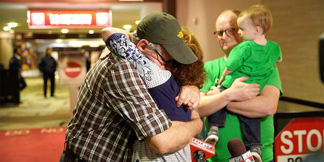 Pastor Bryan Nerren of Shelbyville, Tenn., was reunited with his family Tuesday after being detained in India for more than seven months.