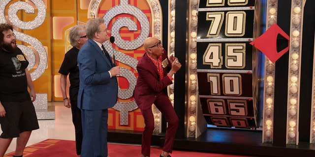RuPaul was playing to raise money for the charity Planned Parenthood (Monty Brinton/CBS)