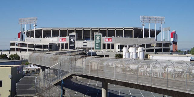 The Oakland Coliseum, home of MLB's Oakland A's, has been used as a vaccination site.