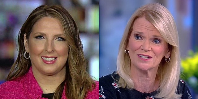 RNC chairwoman Ronna McDaniel told ABC News host Martha Raddatz reporters only recently started challenging the former vice president after weeks of downplaying or skipping Tara Reade's claims.