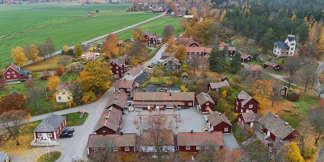 The entire hamlet of Satra Brunn can be yours for 70,000,000 Swedish kroner, or $7,277,188.