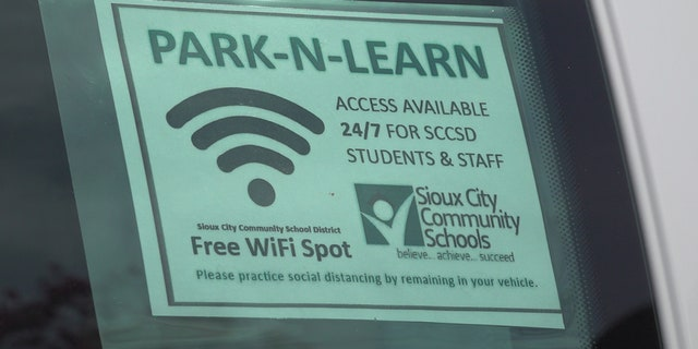 Six vans equipped with Wi-Fi have been serving as hotspot connections in Sioux City's most vulnerable communities.