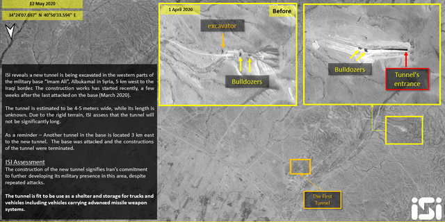 Westlake Legal Group Slide3 Iran building new weapons storage at military base in eastern Syria, satellite images show Yonat Friling Trey Yingst fox-news/world/world-regions/middle-east fox-news/world/conflicts/syria fox-news/world/conflicts/iran fox-news/world/conflicts fox news fnc/world fnc article 17fc540a-b3c9-5e99-8023-2be38db8e14a