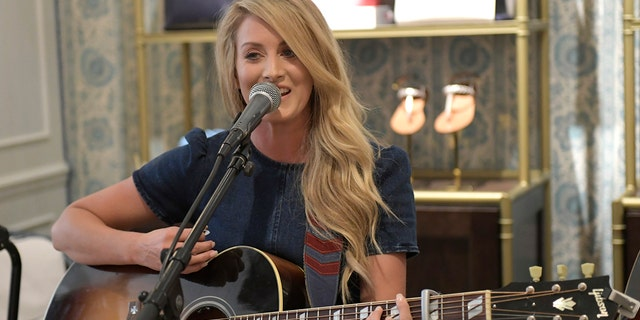 Stephanie Quayle performs at Draper James during 2019 CMA Fest Kickoff on June 03, 2019, in Nashville, Tenn.