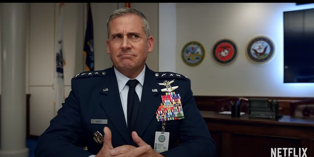 Steve Carell in Netflix's 'Space Force.'