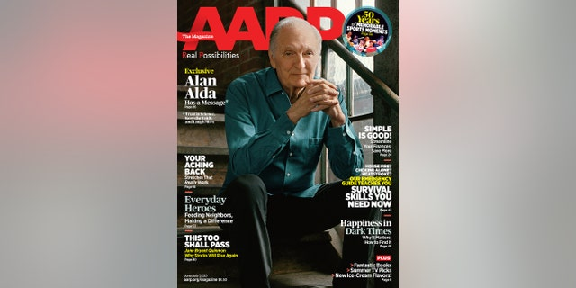 Alan Alda spoke to AARP the Magazine for the June/July 2020 issue.