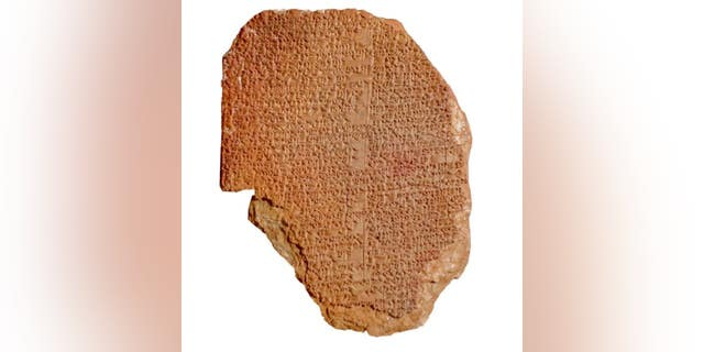 "The ""Gilgamesh Dream Tablet"" dates to around 1600 B.C."