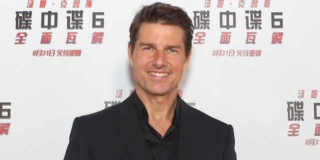 Tom Cruise attends the 'Mission: Impossible - Fallout' China Premiere at The Ancestral Temple on August 29, 2018 in Beijing.