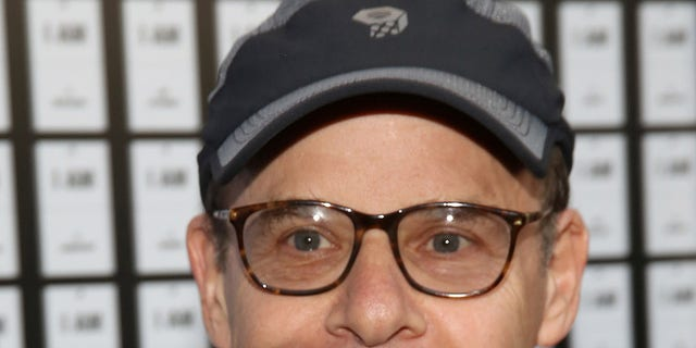 Rick Moranis attends the opening night of'In & Of Itself at the Daryl Roth Theatre
