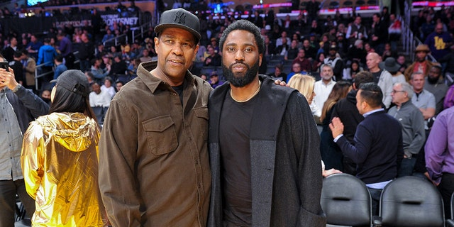 Denzel Washington's son, John David, revealed that his dad used to give pep talks from his movies at his youth football games.