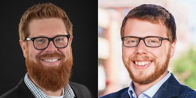 Ben M Hanson, left, and Ben W Hanson, right