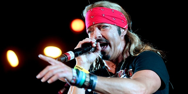 Bret Michaels has been performing music online in recent weeks. (Frazer Harrison/Getty Images for Stagecoach, File)