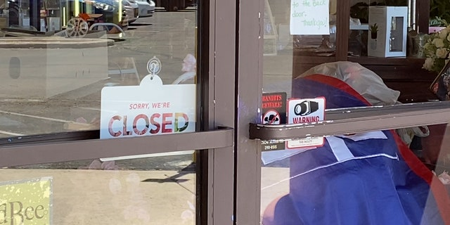 Mayfield Florist in Tucson, Arizona has temporarily closed their storefronts and have switched to online sales (Stephanie Bennett/Fox News).