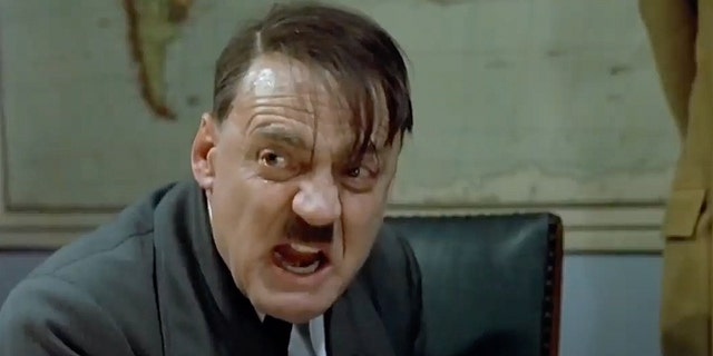 The clip comes from the 2004 movie Downfall, and people frequently overlay humorous subtitles that change the target of Hitler's ranting to a more trivial topic