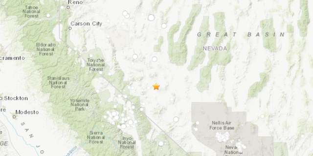 4-magnitude quake hits desert area on Nevada-California border