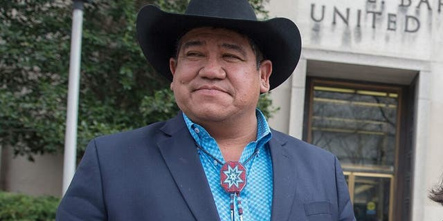 Cheyenne River Sioux Tribe Chairman Harold Frazier in a February 2017 file photo. (Getty Images)