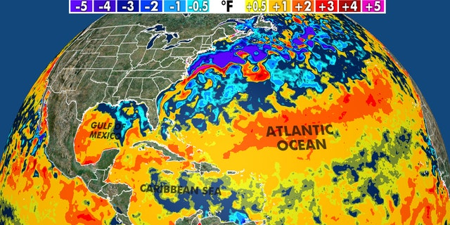 Warmer than average sea surface temperatures is expected to lead to an active Atlantic hurricane season in 2020.