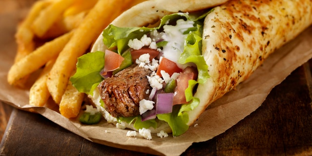 According to the report, Yelpers in Kansas, Kentucky Maryland and North Dakota were seriously craving gyros.