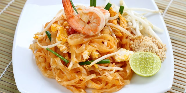 Pad Thai noodles took the top spot in Maine, Washington and Wisconsin.