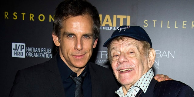 Ben Stiller discussed his dad Jerry Stiller's real-life parenting.