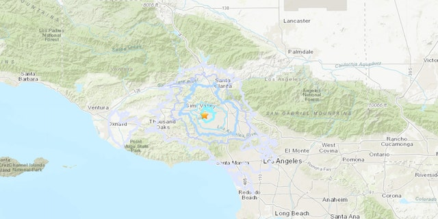 A magnitude 3.3 earthquake rattled some residents in the Los Angeles area early Sunday.