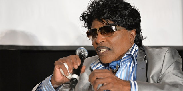 "Little Richard speaks onstage at ""The Legacy Lounge"" A conversation with CeeLo Green and his inspiration at W Atlanta - Downtown on September 29, 2013 in Atlanta, Ga."