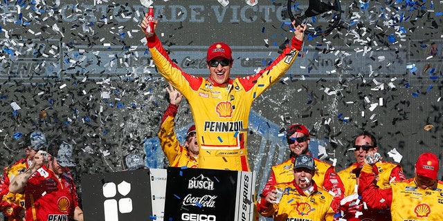 Logano won the NASCAR Cup race at Phoenix Raceway on March 8.