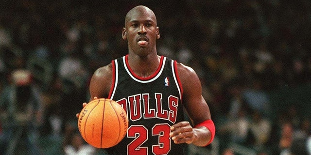 Chicago Bulls legend Michael Jordan is the greatest player in NBA history. (Photo by Alexander Hassenstein/Bongarts/Getty Images)
