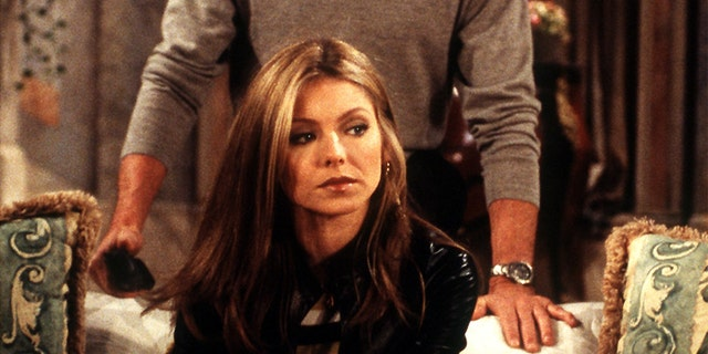 "Kelly Ripa as Hayley Vaughan in a 2000 episode of ""All My Children."""