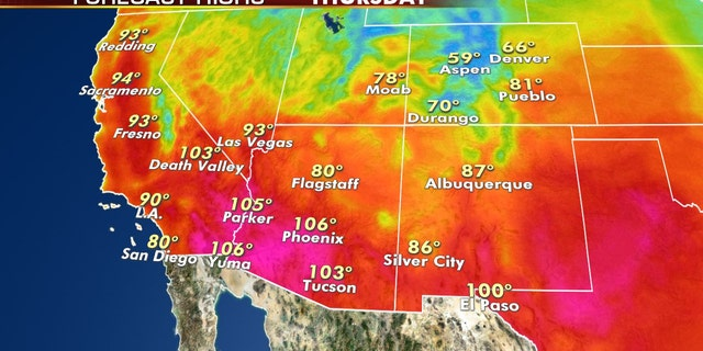 Record heat is possible across the Southwest again this week.
