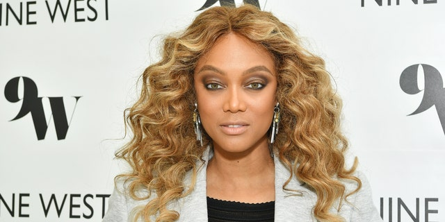Tyra Banks hosts Nine West New campaign launch event in celebration of International Women's Day at ABG West Style Studio on March 5, 2020.