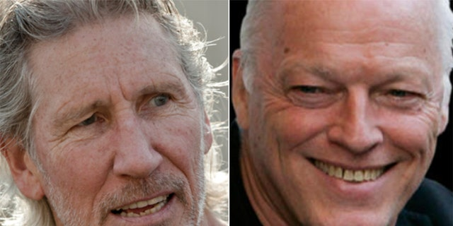 Roger Waters (left) has accused David Gilmour (right) of banning him from accessing Pink Floyd's official website.