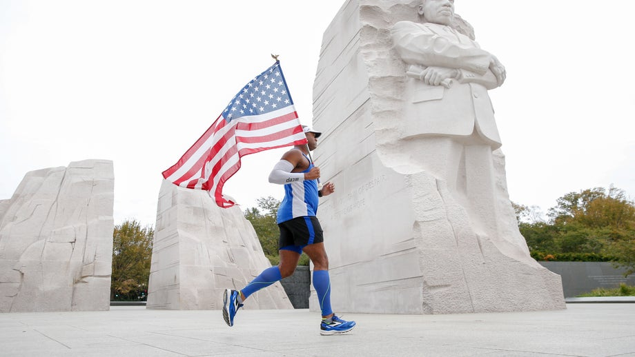 'Wear blue: run to remember' military families group goes 'virtual' this Memorial Day amid coronavirus