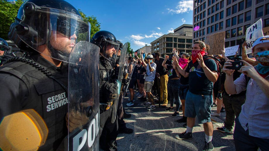 At least 60 Secret Service members injured during George Floyd protests in DC