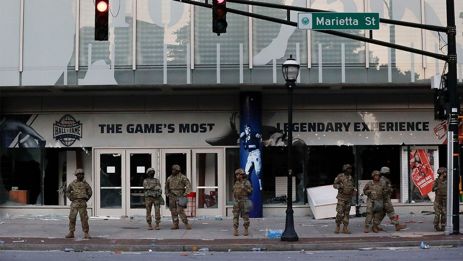 College Football Hall of Fame in Atlanta damaged, looted by protesters: report