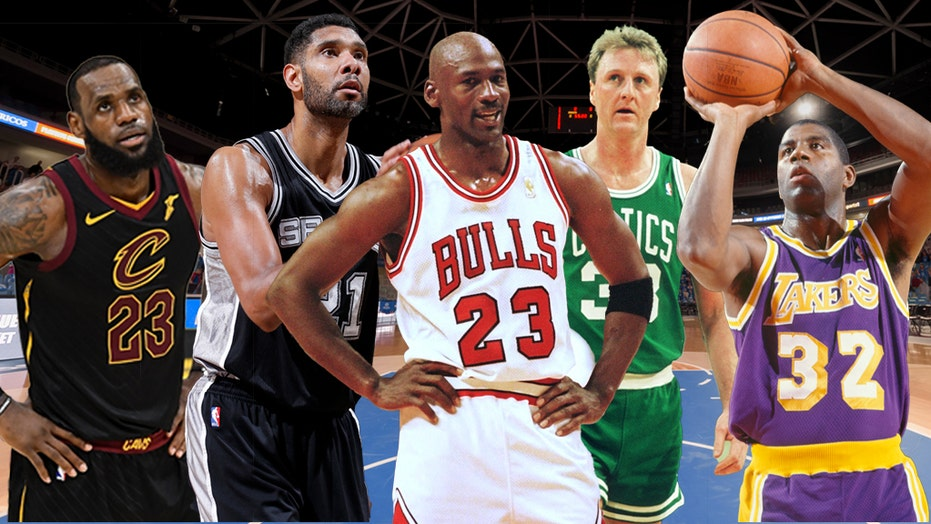 Nba S Greatest Players Of All Time Who Are The Top 23 Fox News