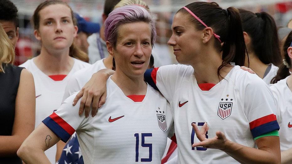 Megan Rapinoe hits out at English soccer for lack of investment in women's game