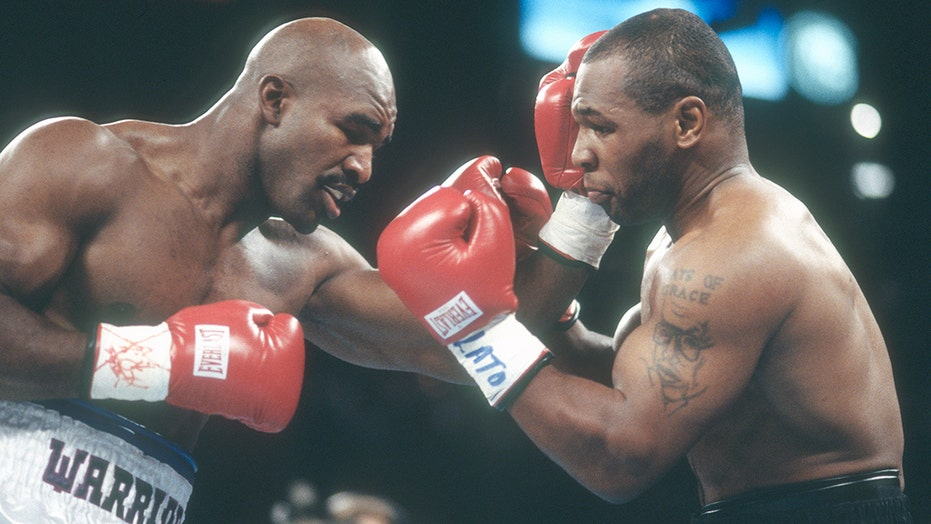 Evander Holyfield on Mike Tyson rematch: 'I think it's gonna happen'