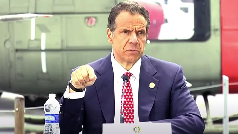 Flashback: Cuomo said to 'blame me' for 'careful approach' to coronavirus reopening