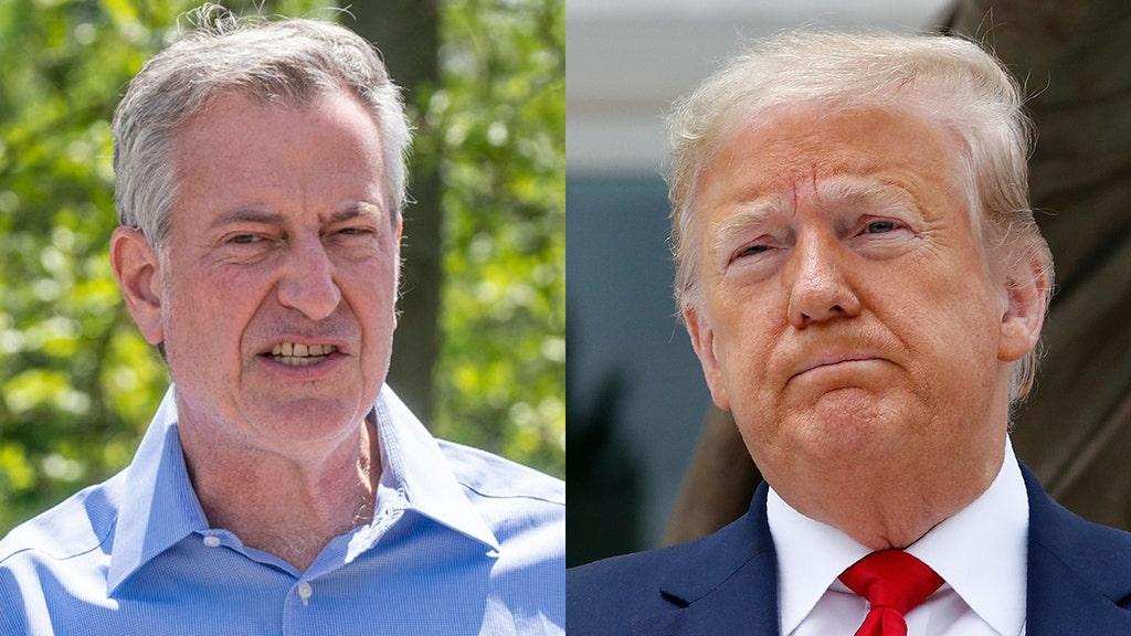 NYC mayor slammed over 'petty' move against Trump Organization