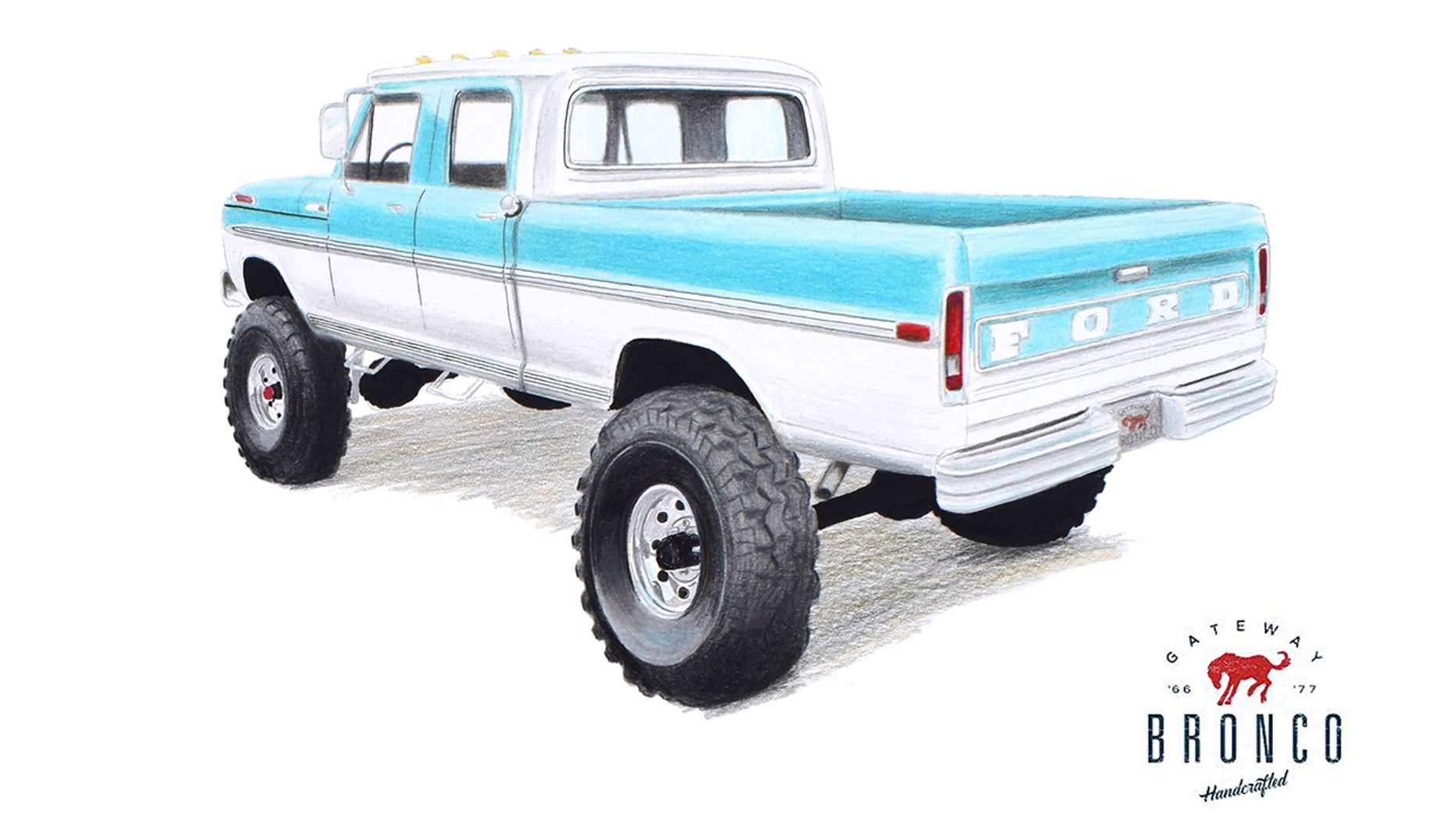1969 Ford F-250 monster truck