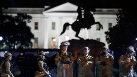 National Guardsmen hospitalized after lightning strike near White House: reports